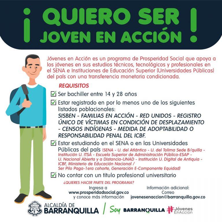 REQUISITOS PARA JOVENES EN ACCION BARRANQUILLA