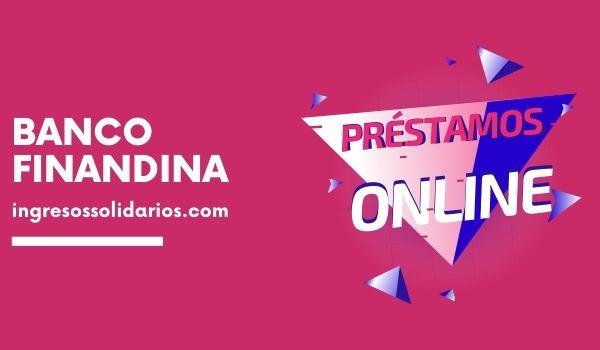 Banco Finandina Préstamos Online