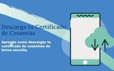 Descargar Certificado de Cesantías
