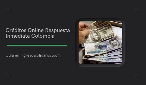 Imagen Créditos Online Respuesta Inmediata Colombia