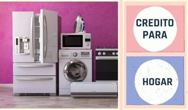 Crédito para electrodomésticos