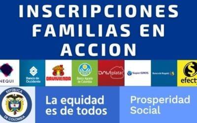 Inscripciones Familias en Acción 2021