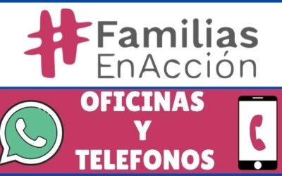 Teléfono Familias en Acción