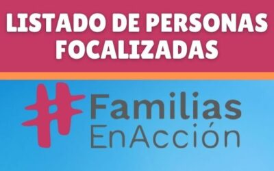 Consultar familias en acción por cédula